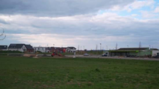 Freifläche für den zukünftigen Jugendpark